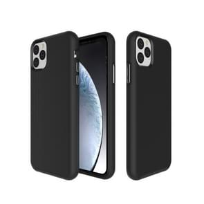 Anti-slip Armor textuur TPU + PC Case voor iPhone XI 2019 (zwart)