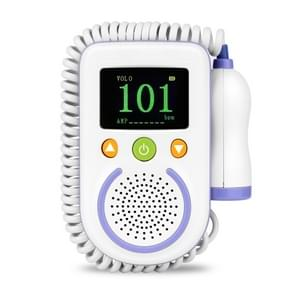 A100D  Digital Fetal Doppler Ultrasound Sound Baby Heartbeat Detector Monitor Rechargeable Prenatal Pocket Fetal Doppler Stethoscope