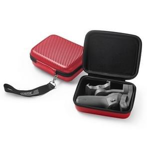 STARTRC PU Carbon Waterproof Storage Box voor DJI Osmo Mobile 3 Gimbal(Red)