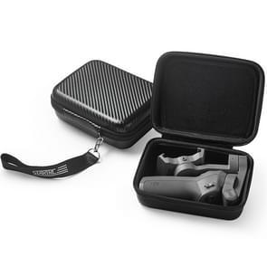 STARTRC PU Carbon Waterproof Storage Box for DJI Osmo Mobile 3 Gimbal(Black)