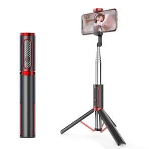 M18 draagbare Selfie stick afstandsbediening mobiele telefoon houder (rood)