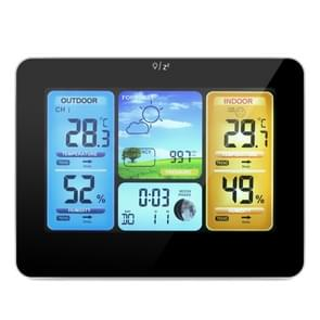 FJ3373   Weather Station Wireless Indoor Outdoor Sensor Multifunction Thermometer Hygrometer Digital Alarm Clock Barometer Forecast