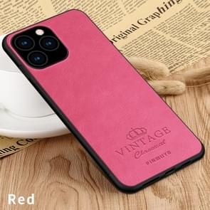 PINWUYO Pin Rui Series Classical Leather, PC + TPU + PU Leather Waterproof And Anti-fall All-inclusive Protective Shell for iPhone 11 Pro Max(Red)