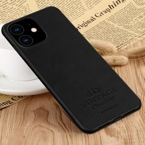 PINWUYO Pin Rui Series Classical Leather, PC + TPU + PU Leather Waterproof And Anti-fall All-inclusive Protective Shell for iPhone XIR 2019(Black)