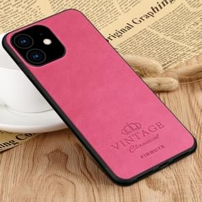 PINWUYO Pin Rui Series Classical Leather, PC + TPU + PU Leather Waterproof And Anti-fall All-inclusive Protective Shell for iPhone 11(Red)