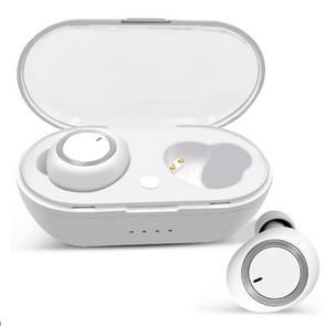 TWS-a1 Bluetooth headset 5 0 True Wireless Mini onzichtbare sport Running muziek koptelefoon met laadbak Mic (wit)