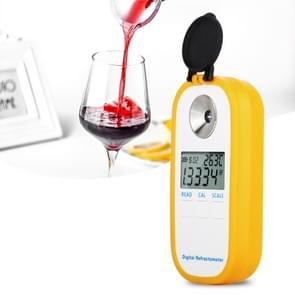 DR401 digitale display refractometer Brix 0-50% alcohol bereik 0 ~ 22% refractometer bier wijn fruit druivensuiker saccharimeter
