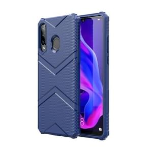 For Huawei P30 Lite Diamond Shield TPU Drop Protection Case(Blue)