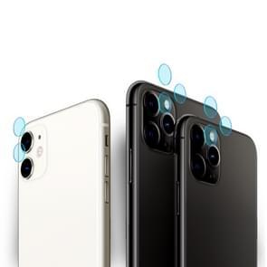 Voor iPhone 11 Pro Max 2st mocolo 0.15 mm 9H 2.5 D ronde rand Achteruitrij camera lens gehard glas film