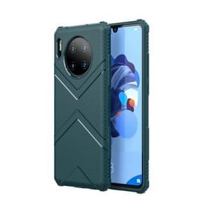 For Huawei Mate30 Diamond Shield TPU Drop Protection Case(Navy Blue)