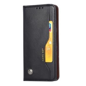 Voor Huawei mate 30 Knead huidtextuur horizontale Flip lederen draagtas met foto frame & houder & kaartsleuven & portemonnee (zwart)