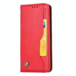 For Huawei Mate 30 Knead Skin Texture Horizontal Flip Leather Case with Photo Frame & Holder & Card Slots & Wallet(Red)