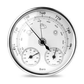 THB9392  Wall Mounted Digital Thermometer Hygrometer Household High Accuracy Pressure Gauge Air Weather Instrument Barometer