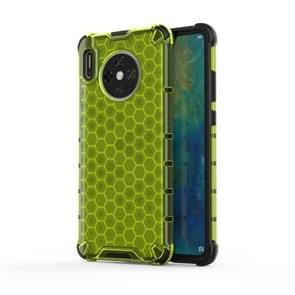 For Huawei Mate 30 Shockproof Honeycomb PC + TPU Case(Green)