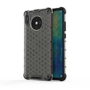 For Huawei Mate 30 Shockproof Honeycomb PC + TPU Case(Grey)