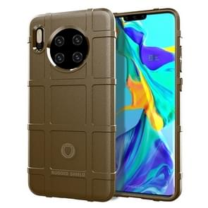 For Huawei Mate 30 Full Coverage Shockproof TPU Case(Brown)