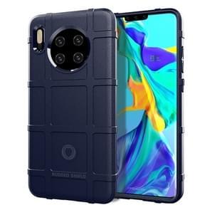 Voor Huawei mate 30 volledige dekking schokbestendig TPU case (blauw)