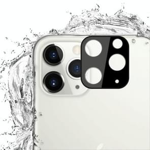 Voor iPhone 11 Pro 2 stks mocolo 0.15 mm 9H 2.5 D ronde rand Achteruitrij camera lens gehard glas film (zwart)