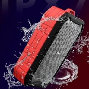 M3 draadloze Bluetooth Speakers waterdichte draagbare outdoor luidspreker Mini Box speaker ondersteuning FM & TF & U disk (rood)
