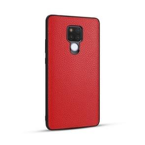 Voor Huawei mate 20/mate 20X Lychee graan cortex anti-Falling TPU mobiele telefoon shell beschermende case (rood)