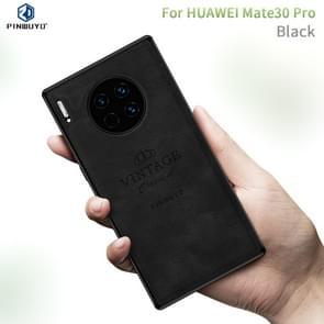 For Huawei Mate 30 Pro PINWUYO Zun Series PC + TPU + Skin Waterproof and Anti-fall All-inclusive Protective Case(Black)