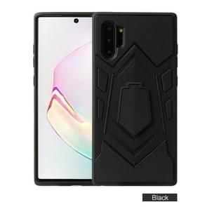 For Galaxy Note 10 Pro  Shockproof TPU + PC Protective Case with Holder(Black)