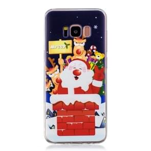 For Galaxy S8 Plus Christmas Gift TPU Case(Santa Claus)
