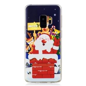 For Galaxy S9 Plus Christmas Gift TPU case(Santa Claus)