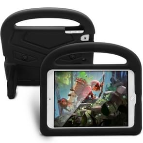 For  iPad Mini 5 / 4 / 3 / 2 / 1 Sparrow Style EVA Children's Flat Anti Falling Protective Shell(Black)