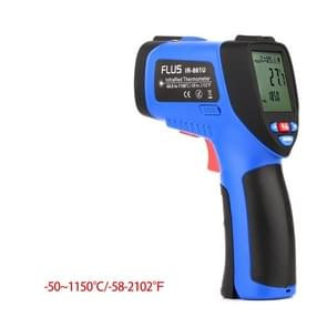 FLUS IR-861U -50~1150℃ Digital Infrared Non-contact Laser Handheld Portable Electronic Outdoor Thermometer Pyrometer