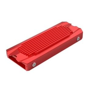 ORICO M2SRB M.2 Heat Sink All-Aluminum Design,Double Side Thermal Pad(Red)
