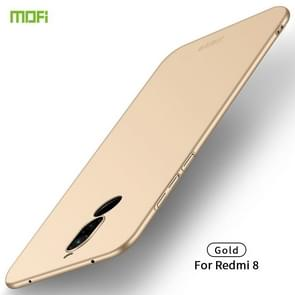 For Xiaomi RedMi 8 MOFI Frosted PC Ultra-thin Hard Case(Gold)