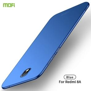 For Xiaomi RedMi 8A MOFI Frosted PC Ultra-thin Hard Case(Blue)
