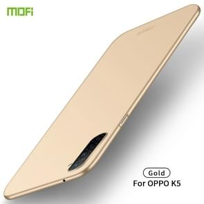 For OPPO K5 MOFI Frosted PC Ultra-thin Hard Case(Gold)