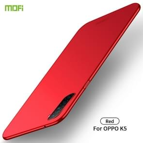 For OPPO K5 MOFI Frosted PC Ultra-thin Hard Case(Red)