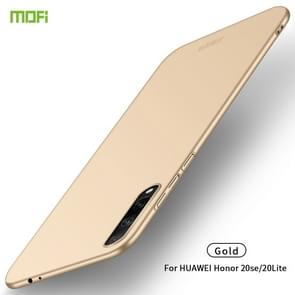 For Huawei Honor 20 Lite MOFI Frosted PC Ultra-thin Hard Case(Gold)