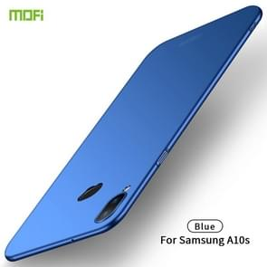 For Galaxy A10S MOFI Frosted PC Ultra-thin Hard Case(Blue)