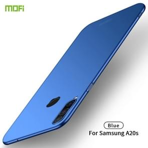 For Galaxy A20S MOFI Frosted PC Ultra-thin Hard Case(Blue)