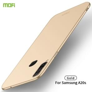 For Galaxy A20S MOFI Frosted PC Ultra-thin Hard Case(Gold)