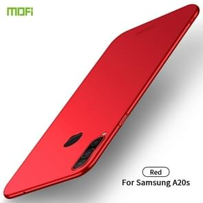 For Galaxy A20S MOFI Frosted PC Ultra-thin Hard Case(Red)