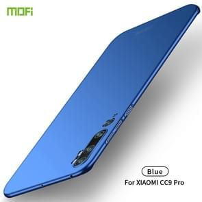 For Xiaomi CC9 Pro MOFI Frosted PC Ultra-thin Hard Case(Blue)