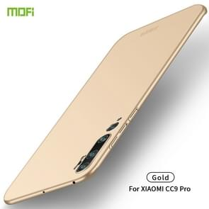 For Xiaomi CC9 Pro MOFI Frosted PC Ultra-thin Hard Case(Gold)