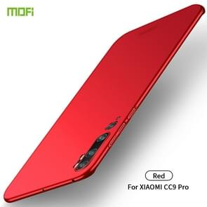 For Xiaomi CC9 Pro MOFI Frosted PC Ultra-thin Hard Case(Red)