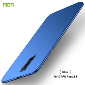 For OPPO Reno2 Z MOFI Frosted PC Ultra-thin Hard Case(Blue)