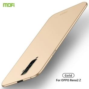 For OPPO Reno2 Z MOFI Frosted PC Ultra-thin Hard Case(Gold)
