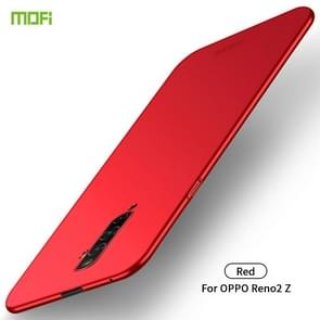 For OPPO Reno2 Z MOFI Frosted PC Ultra-thin Hard Case(Red)