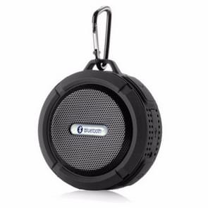 C6a Outdoor Chuck Wireless Bluetooth Car Speaker Suction Cup Speaker  Support TF Card(Black)