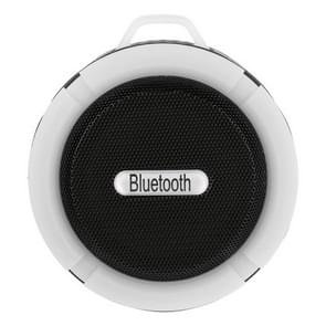 C6a Outdoor Chuck Wireless Bluetooth Car Speaker Suction Cup Speaker  Support TF Card(White)