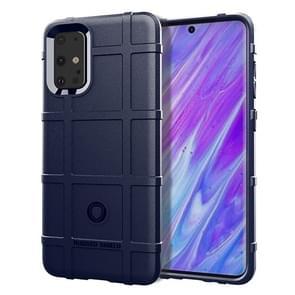 Voor Galaxy S11 plus volledige dekking schokbestendig TPU case (blauw)