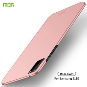 Voor Galaxy S11e MOFI Frosted PC ultradun hard case (Rose goud)